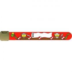 Kinderarmband rote Wikinger