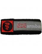 SOS-Armband mit medizinischem Logo
